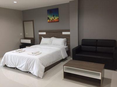 PJ Place Apartment ห้องพักใกล้นิคมเวลโกร์ว-Double A
